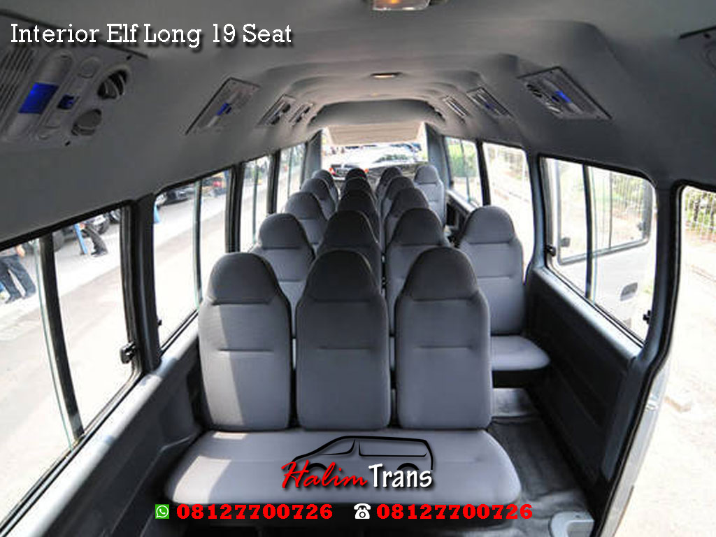 interior elf long 19 seat halim trans